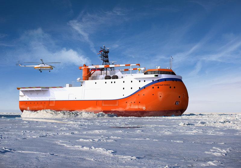 В России начали строить самодвижущуюся арктическую платформу