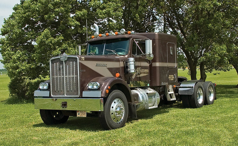 10 настоящих американских грузовиков