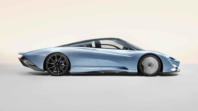 McLaren презентовала гиперкар Speedtail