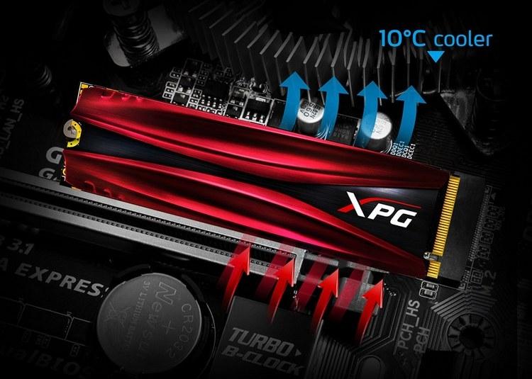 ADATA представила скоростные твердотельные накопители XPG Gammix S11 Pro
