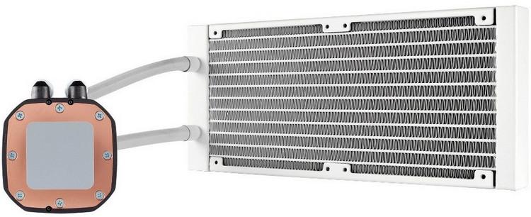 Corsair Hydro Series H100i Platinum SE: необслуживаемая СЖО белого цвета