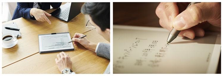 Fujitsu сдалась E Ink и анонсировала два больших электронных блокнота на «цифровой бумаге»