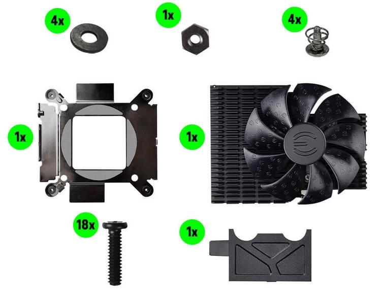 EVGA Hybrid Kit: гибридные системы охлаждения для видеокарт GeForce RTX