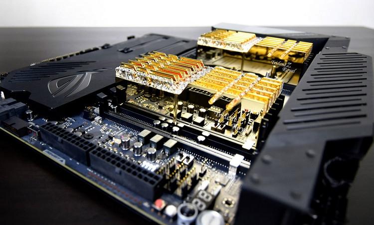 G.Skill представила шестиканальные комплекты памяти Trident Z Royal DDR4 RGB для Xeon W-3175X
