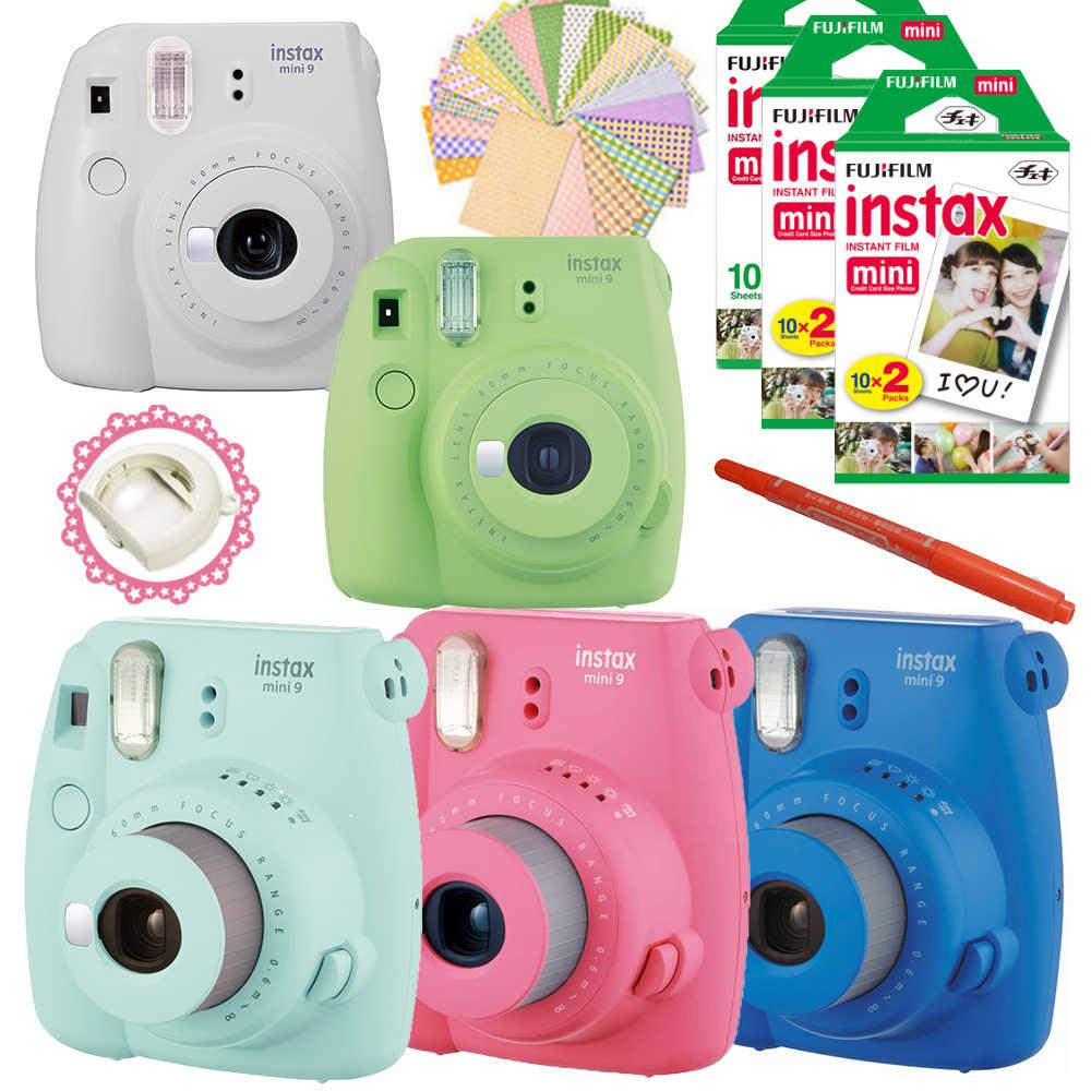 Instax mini 9: камера мгновенной печати для любителей ярких эмоций