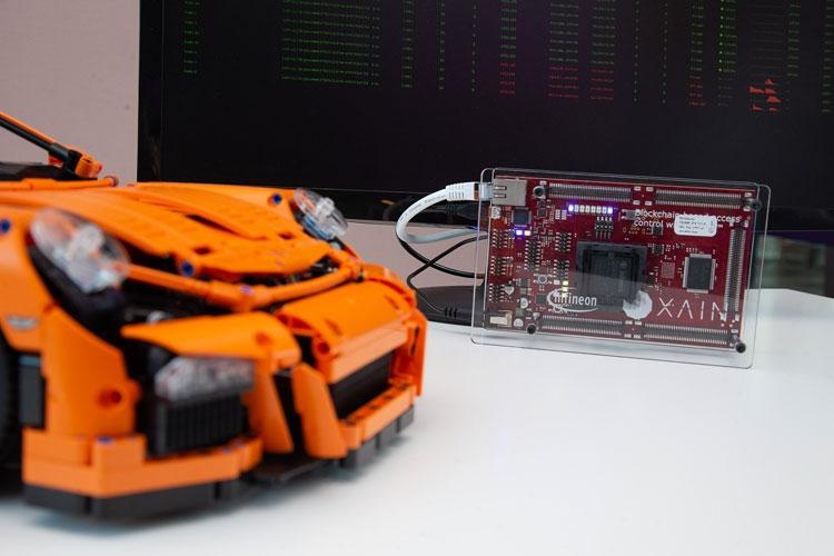 Infineon берёт на вооружение технологию блокчейн: раздели свою машину с ближним