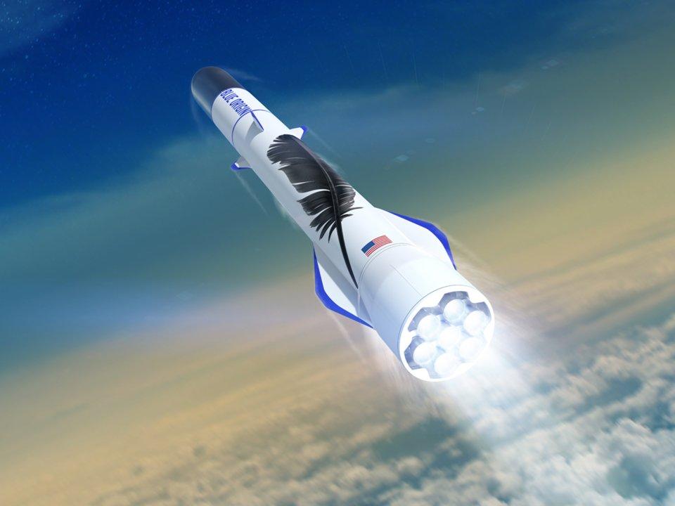 Blue Origin приступила к разработке лунного посадочного модуля