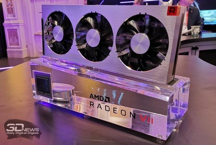 В обозримом будущем Radeon VII будет доступна только в эталонной версии