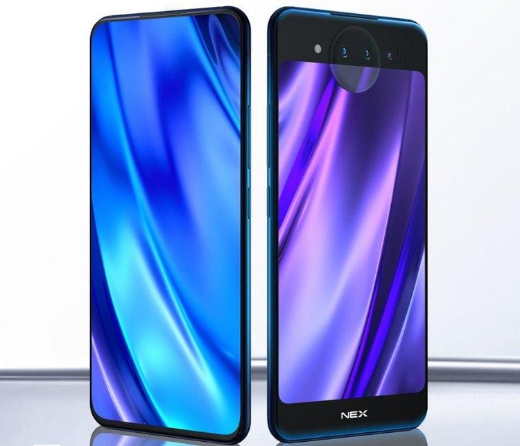 Vivo NEX Dual Display Edition: смартфон с двумя дисплеями и тройной камерой