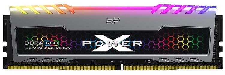 Silicon Power представила модули памяти Xpower Turbine RGB с яркой подсветкой