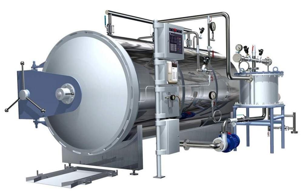 ТЕХПРОДСЕРВИС - Оборудование для фасовки каш с мясом. Автоклав горизонтальный