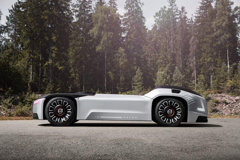 Volvo Vera: беспилотный электрический грузовик без кабины