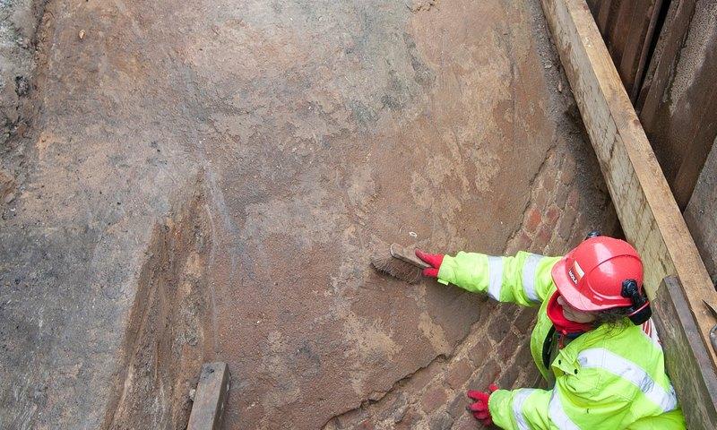 В Лондоне найдено хранилище льда XVIII века