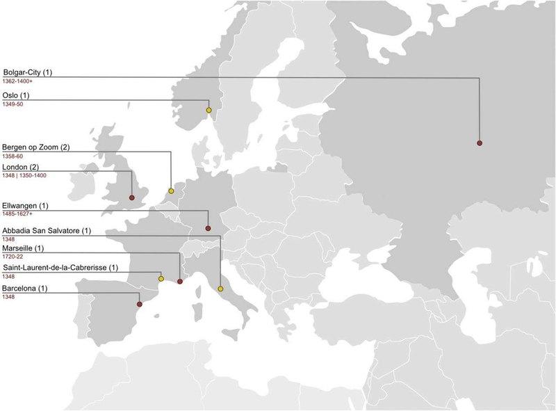 С русских гор вестимо: откуда пришла европейская чума