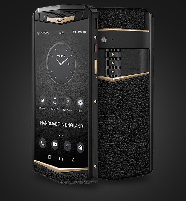 Люксовые смартфоны Vertu возвращаются на рынок