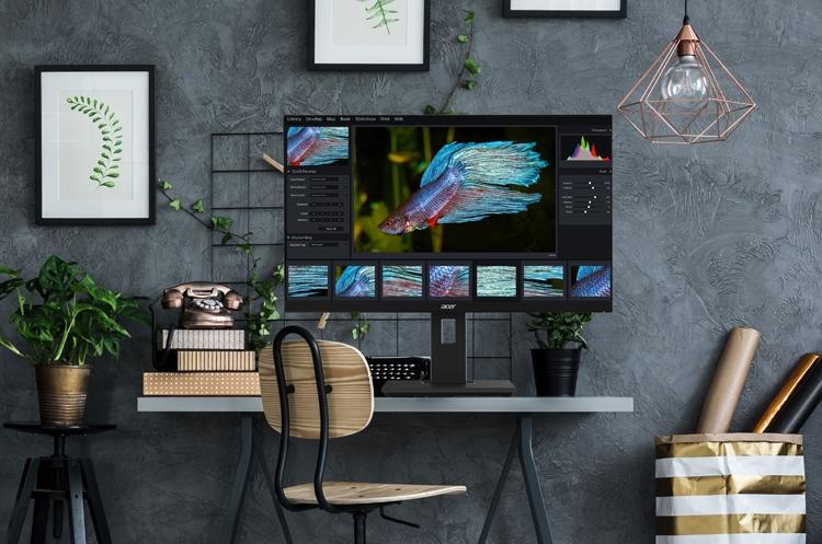 Игровые мониторы Acer серии Nitro VG0 обладают временем отклика в 1 мс