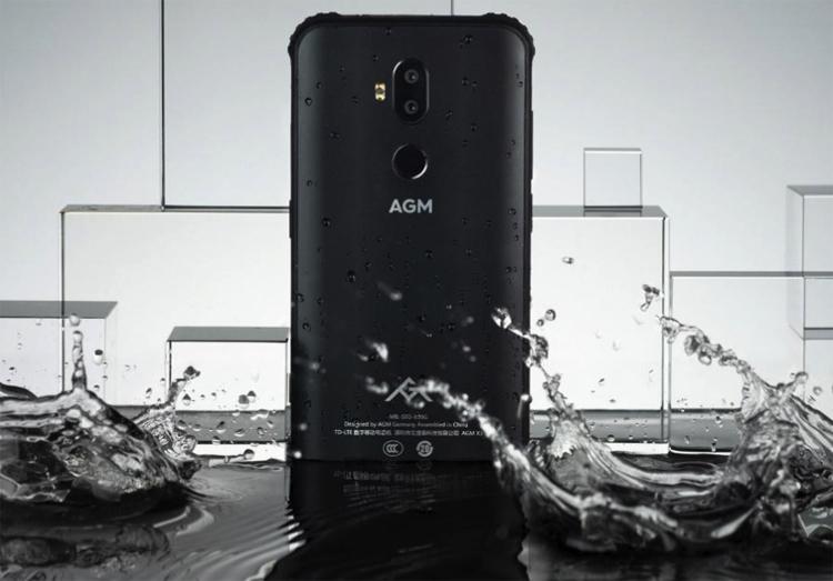 AGM X3 стал одним из самых мощных смартфонов повышенной прочности