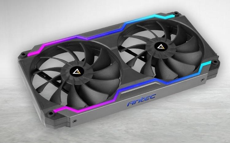 Antec Prizm Cooling Matrix: необычный сдвоенный вентилятор в единой «оправе»