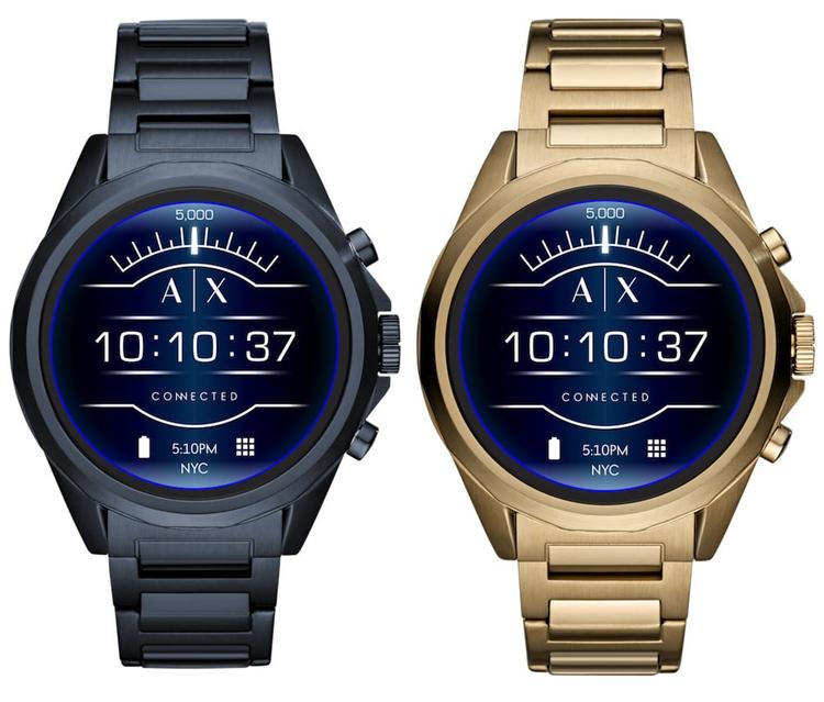 Armani Exchange Connected: герметичные смарт-часы на базе Wear OS