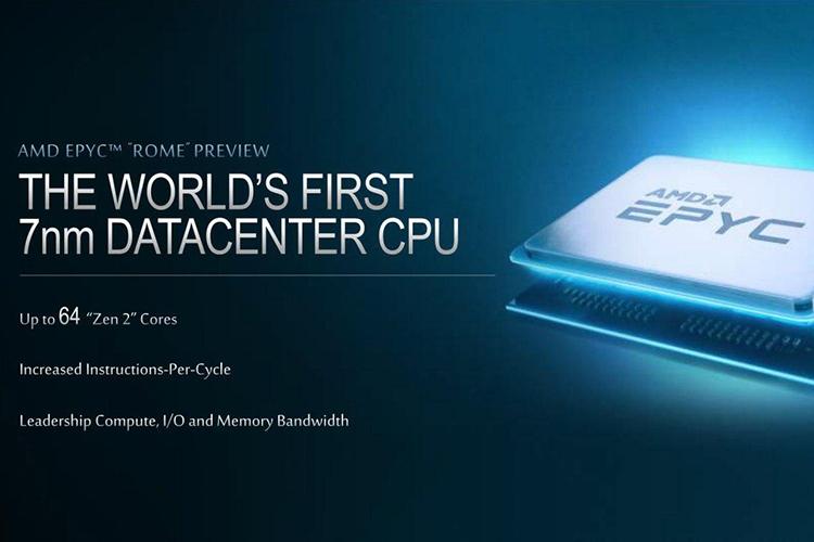AMD показала, как один EPYC Rome одолевает пару 28-ядерных Xeon Platinum