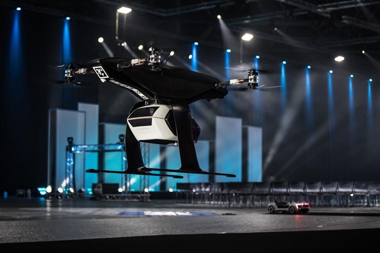 Видео дня: прототип летающего такси Audi, Airbus и Italdesign