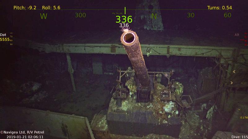 Дрон нашел авианосец USS Hornet, потопленный в ходе Второй мировой войны