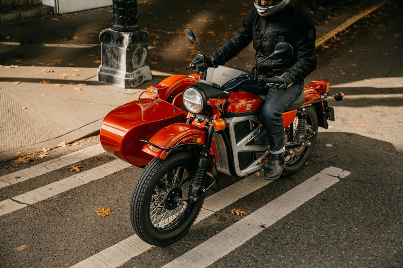 «Урал» показал электромотоцикл с коляской