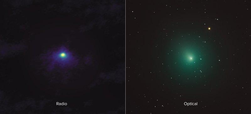 Потрясающие фотографии самой яркой кометы 2018 года: