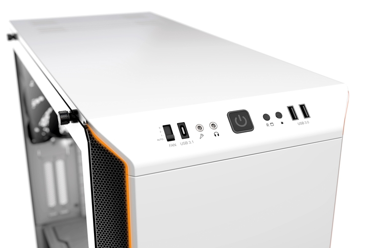 Корпус be quiet! Silent Base 601 позволяет применять видеокарты длиной до 449 мм