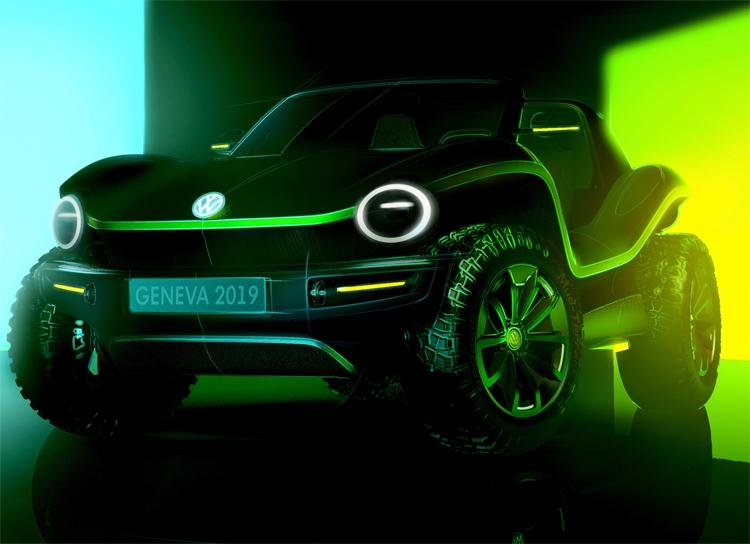 Volkswagen покажет концепт полностью электрического багги