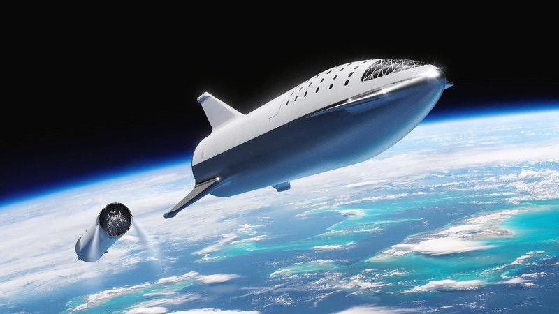 Строящийся прототип «Звездолета» показали на фото