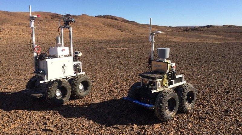 Автономные марсианские роверы испытали в Сахаре