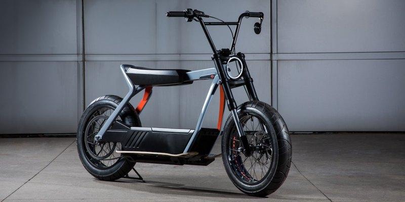 Harley-Davidson показала концепт электроскутера
