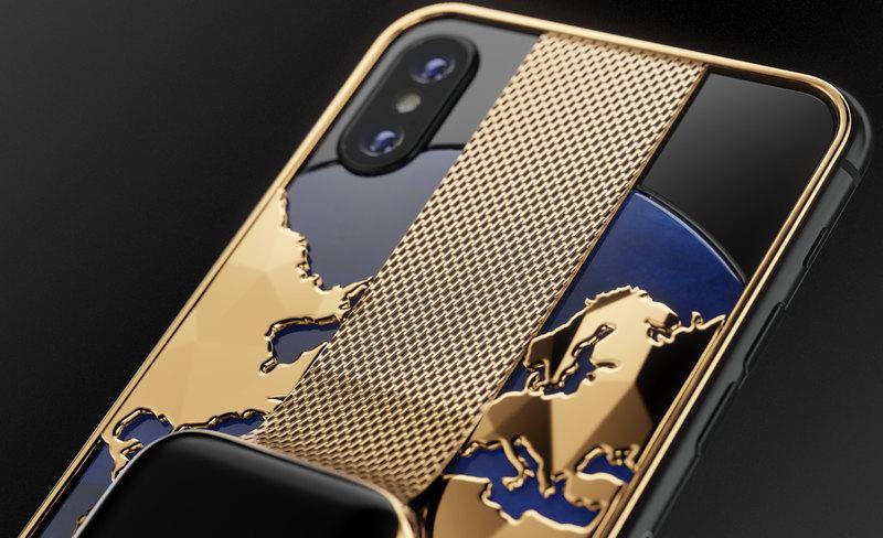 Российская компания скрестила iPhone XS и смарт-часы Apple Watch 4