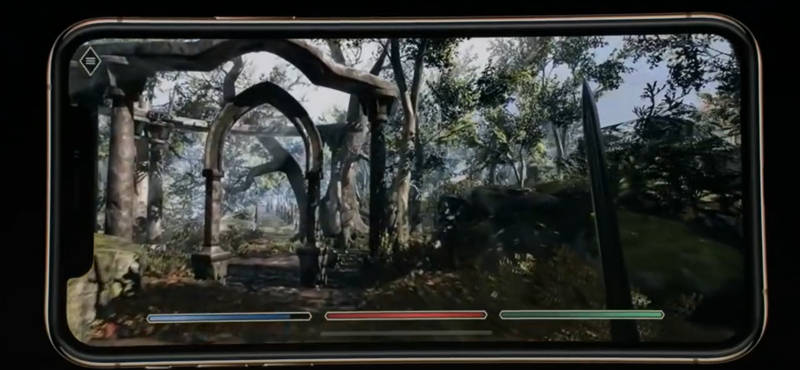 Геймплей The Elder Scrolls: Blades на iPhone XS Max. Skyrim на смартфоне?