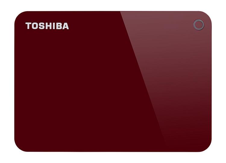 Новый карманный жёсткий диск Toshiba Canvio вмещает 4 Тбайт данных