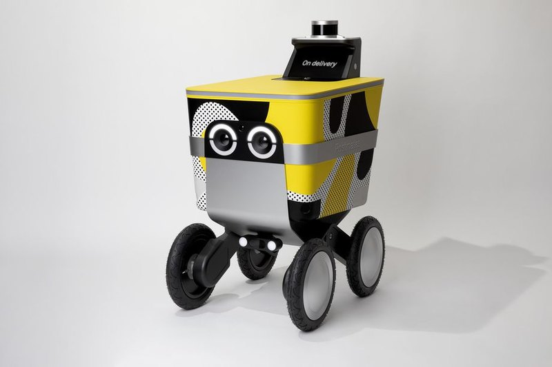 Создан робот-курьер с «глазами»