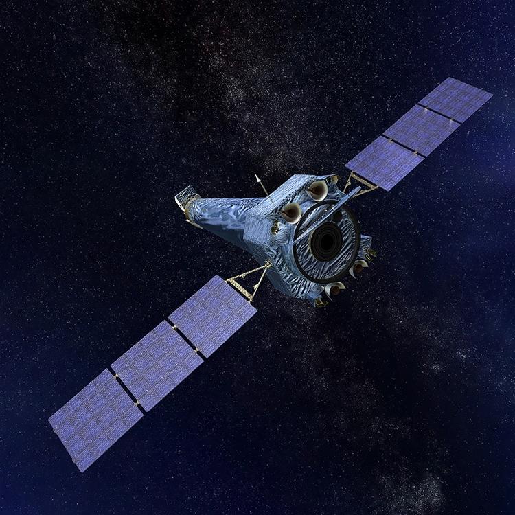 Космическая обсерватория «Чандра» возобновляет работу