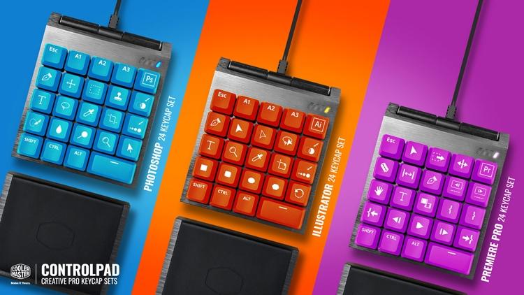 Cooler Master ControlPad: панель управления для игроков и создателей контента