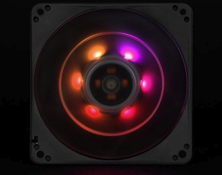 Вентилятор SilverStone FW124-ARGB совместим с популярными системами подсветки