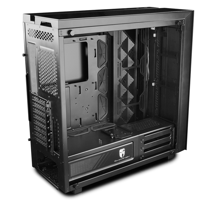 Корпус Gamer Storm New Ark 90SE оснащён оригинальной подсветкой