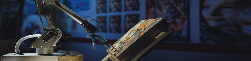 Искусственное искусство: невероятные картины роботов