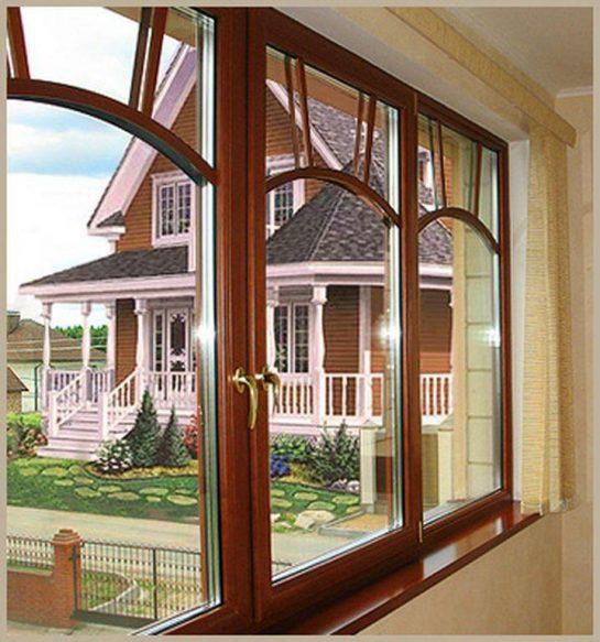 Эксклюзивные окна из дерева