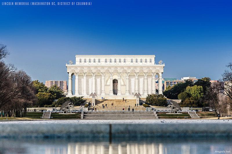 8 чудес архитектуры: как выглядела бы Америка в готическом стиле