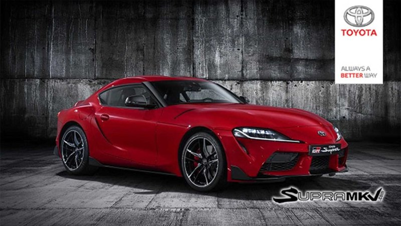 Новую Toyota Supra показали на фотографиях