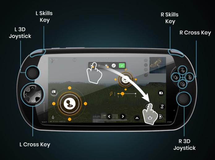 Представлен смартфон, больше напоминающий игровую консоль