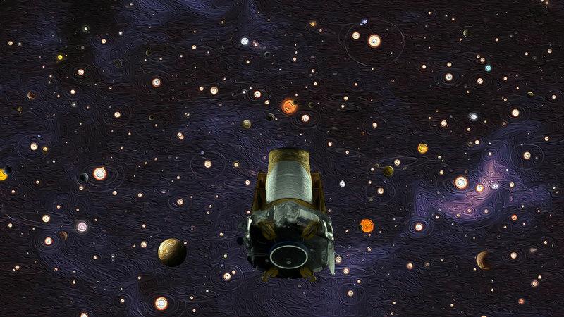 Космический телескоп «Кеплер» завершил работу