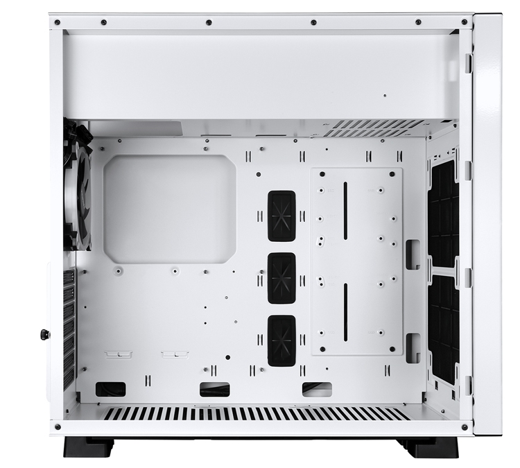 Белый и чёрный: ПК-корпус Raidmax Enigma с лаконичным дизайном