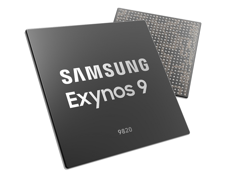 Дебют Exynos 9 Series 9820: флагманский процессор Samsung с модемом LTE Cat.20