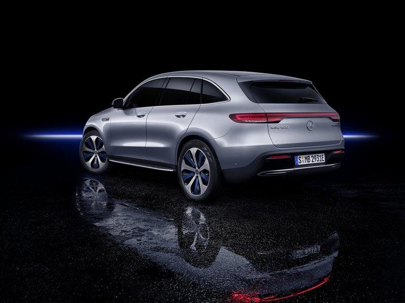 Новый Mercedes-Benz EQC